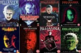Hellraiser Complete All 8 Movies DVD Film Collection [8 Discs] Part 1, 2: Hellbound 3: Hell On Earth, 4: Bloodline, 5: Inferno, 6: Hellseeker, 7: Deader, 8:Hellworld + Extras