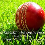 img - for Cricket: A Sport in Verse book / textbook / text book