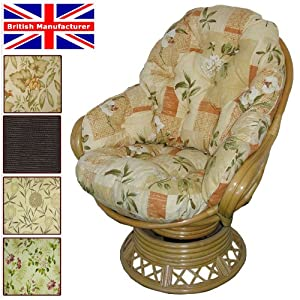 Conservatory Replacement Swivel Rocker CUSHIONS ONLY Wicker Rattan Furniture Gilda® from Gilda Ltd