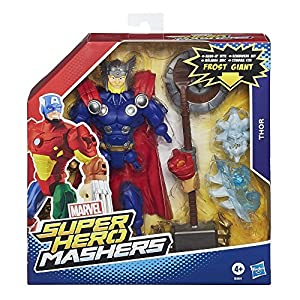 Avengers Marvel Super Hero Mashers Thor Action Figure