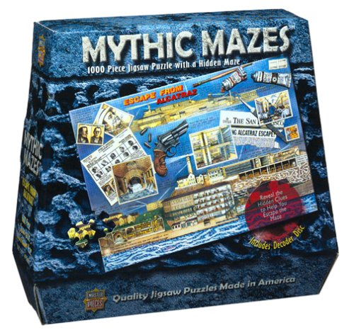 Escape from Alcatraz Maze Jigsaw Puzzle 1000pc