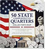 img - for 50 State Commemorative Quarters Collector's Map (includes both mints!) book / textbook / text book