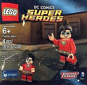 Plastic Man - Lego Mini Figure - DC Comics Super Heroes