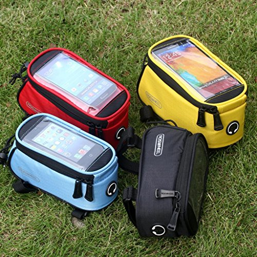 Buy Bargain LoHai [SHIP FROM USA!!] Bicycle Top Tube Frame Cycling Pannier Water Resistant Bike Bag & Mobile Phone Screen touch Holder Mount Fits Phones iPhone Samsung LG Sony Nexus HTC