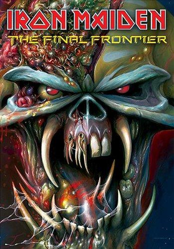 Iron Maiden Poster Bandiera/Bandiera/Bandiera Frontier Tour