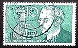 Rudolf Diesel 18.3.1858 Germany Handmade Framed Postage Stamp Art 16343 Am
