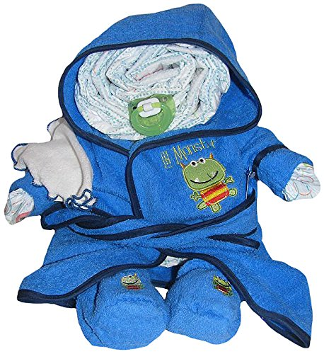 Create-A-Gift Boy Bath Time Diaper Darling - 1