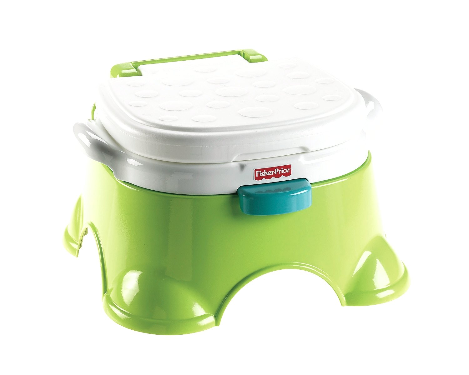 Details about fisher price royal stepstool potty green new free