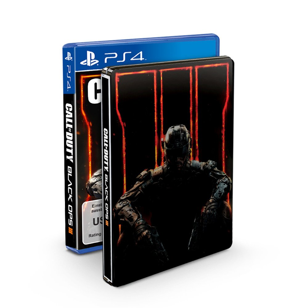 ps4铁盒游戏包装汇总 使命召唤12:黑色行动3