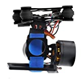 Crazepony Brushless Gimbal GoPro Camera Mount Gimbal Kit for DJI Phantom Hero3+ Hero3 (Color: Black)
