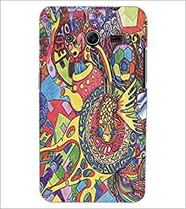 PRINTSWAG COLORFUL ART Designer Back Cover Case for SAMSUNG GALAXY CORE 2 G355H