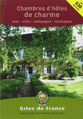 Chambres d 39 hotes de charme 2015 2016 mer ville campagne montagne francais ebay - Chambres hotes de charme ...