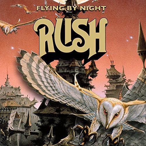 FLYING BY NIGHT - LIMITED EDITION ORANGE VINYL LP!