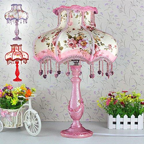 bbslt moderne spitzenstoff lampe schlafzimmer wohnzimmer tischlampe durchmesser 300xh480 mm. Black Bedroom Furniture Sets. Home Design Ideas