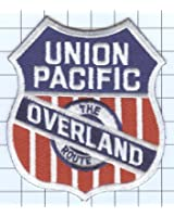 Railroad 100% Embroidered Patch Collectible - UNION PACIFIC OVERLAND ROUTE