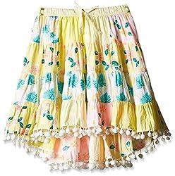 Pumpkin Patch Girls' Skirt (S5TG70008_Clean White_4)