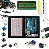 Vilros Arduino Arduino Uno Ultimate Starter Kit + LCD Module - Includes 72 page Instruction Book (Tamaño: Ultimate + LCD)