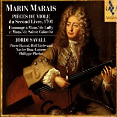 Marin Marais: Pieces De Viole Du Second Livre, 1701