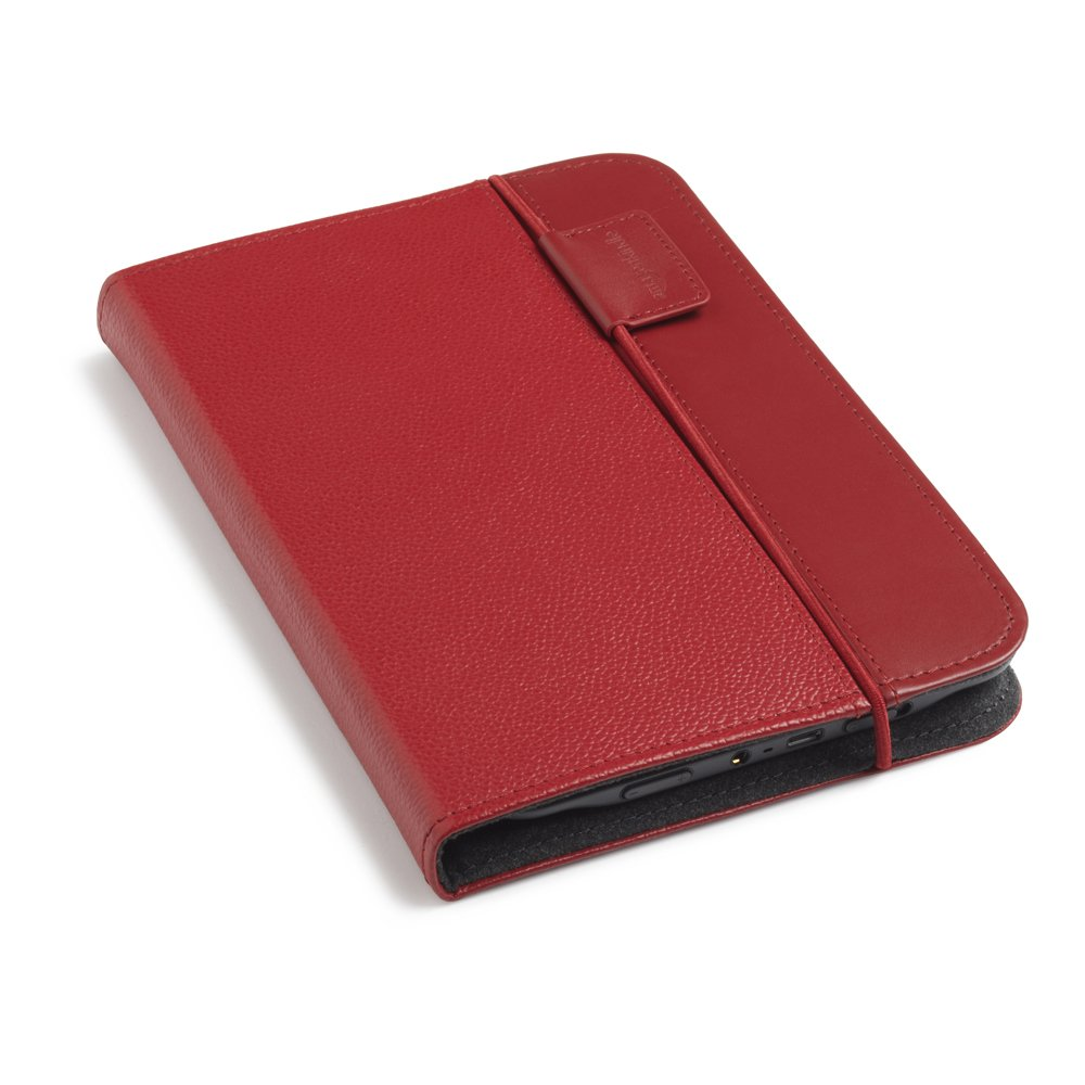 Kindle Lighted Leather Cover, Burgundy Red