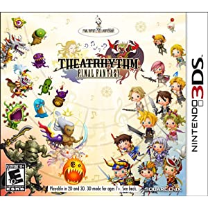 Theatrhythm Final Fantasy Nintendo 3DS Game