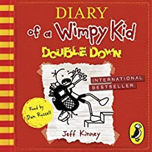 Double Down: Diary of a Wimpy Kid, Book 11 Audiobook by Jeff Kinney Narrated by Dan Russell