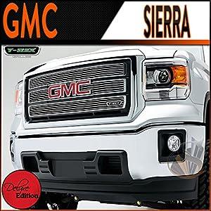 Amazon.com: 2014 Gmc Sierra 1500 Chrome Billet Grille (Overlay
