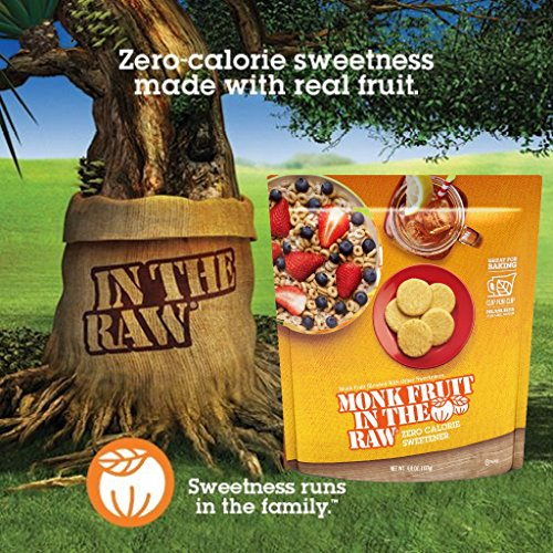 Monk Fruit In The Raw Sweetener, 4.8 Ounce