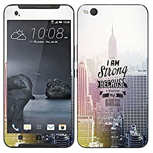 Theskinmantra I am strong mobile skin for HTC One X9