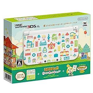 Newニンテンドー3DS LL どうぶつの森 ハッピーホームデザイナー パック 【Amazon.co.jp限定】オリジナルマスキングテープ2個 付