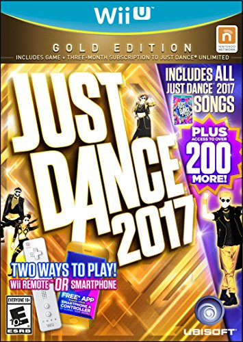 Just Dance 2017 Gold Edition Wii U