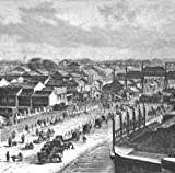Antique Print: CHINA: High Street, Beijing. Caption below print: Title above print: 'Fig. 72 The High Street, Peking'. Type: Antique wood engraved print. Date of printing: c1885. Size: 12.5 x 12.5cm, 4.75 x 5 inches (Small), 162 sq cm. Artist...