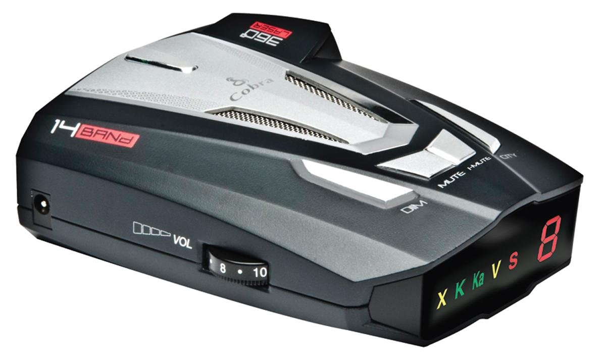 Cobra XRS9470 Voice Alert 14 Band Radar/Laser Detector