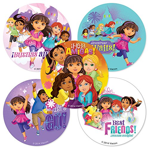 Dora & Friends Stickers - Birthday and Theme Party Supplies - 75 per Pack