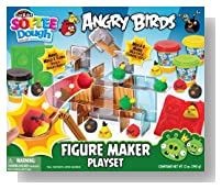 Angry Birds Softee Dough Character Maker Set