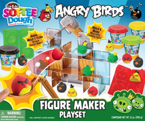 Angry Birds Softee Dough Character Set Creador