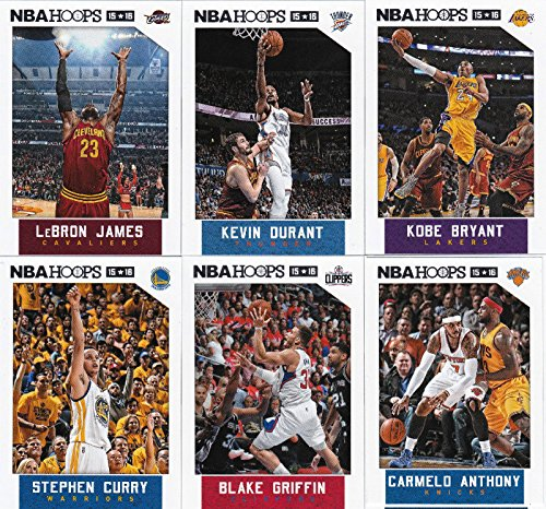 2015-2016-Hoops-NBA-All-Stars-Collection-Special-Edition-Factory-Sealed-Basketball-Set-with-Lebron-James-Stephen-Curry-and-More