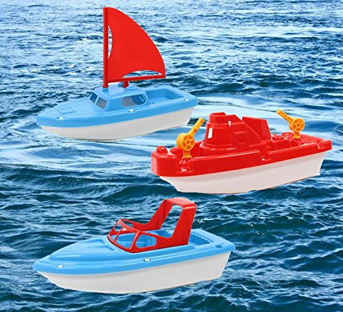 Dazzling-Toys-Bath-and-Sand-Boat-Set-3-Pack-Tugboat-Speedboat-and-Sailboat