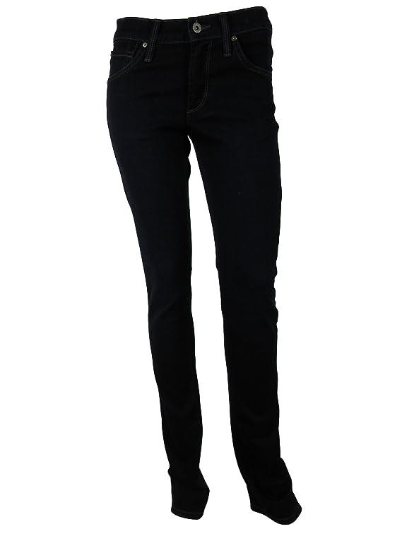 James Jeans Womens Hunter High Rise Straight Leg Jeans