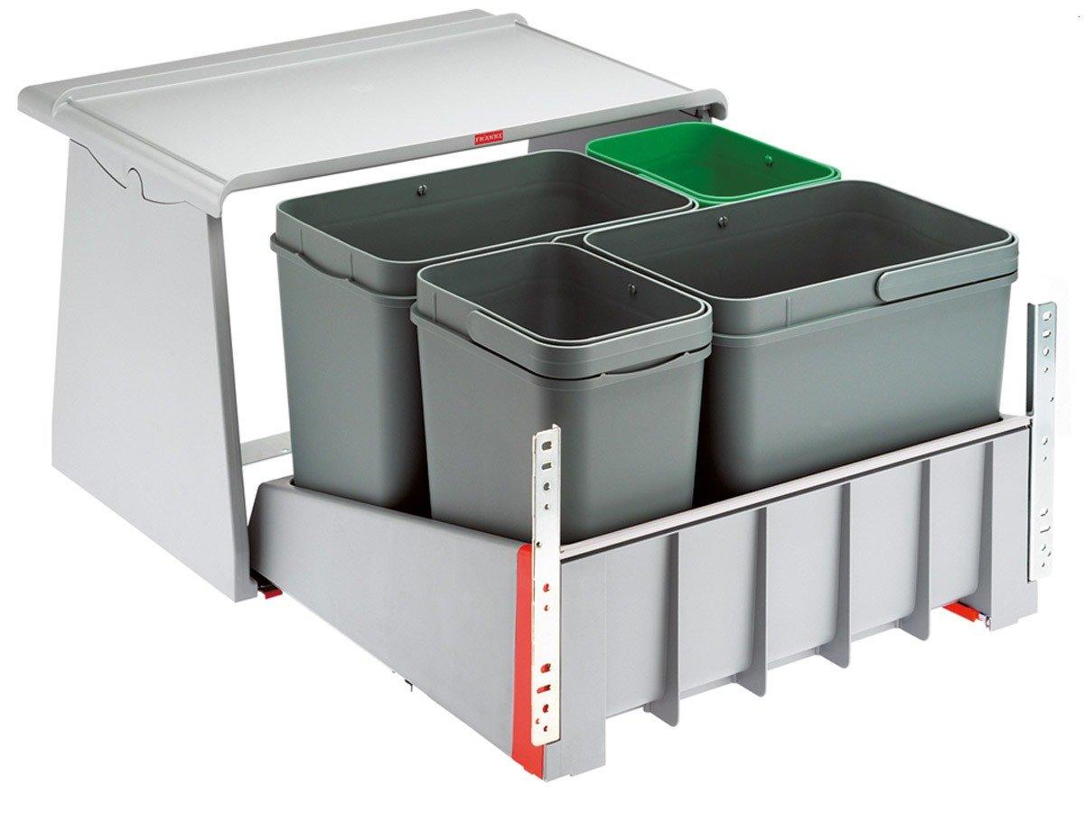 Franke Sorter 70060 KickMatic  121.0173.362 Einbau Abfallsammler Abfalleimer  Kundenbewertung und Beschreibung