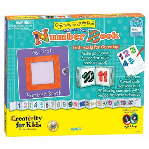 Creativity For Kids Myo Number Book front-886171