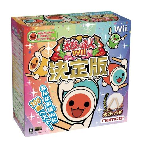 【ゲーム 買取】太鼓の達人Wii 決定版(太鼓とバチ同梱版)