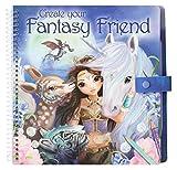 Toy - Depesche 7847 - Malbuch mit Rubbelbildern Fantasy Model and Friends