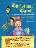 img - for Christmas Carols: 44 Favorites with Easy Piano Arrangements (Dover Song Collections) book / textbook / text book