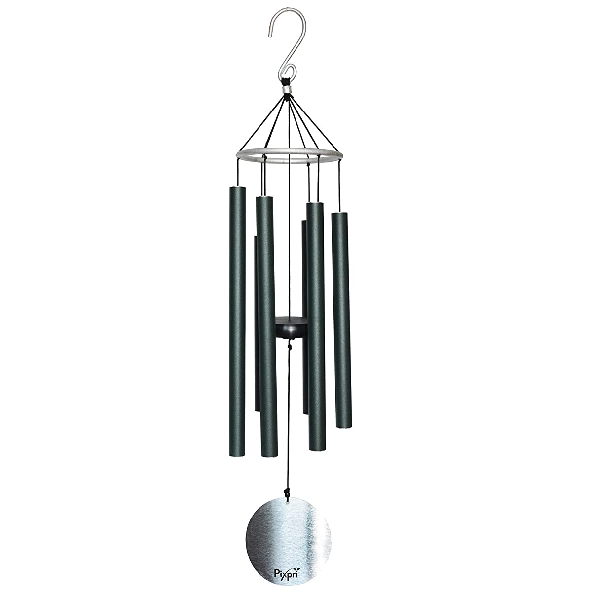 Pixpri Wind Chimes, Outdoor Garden and Home Decor, Elegant Metal Design Windchimes with Soft, B Pentatonic Scale, Beautiful Wind chime