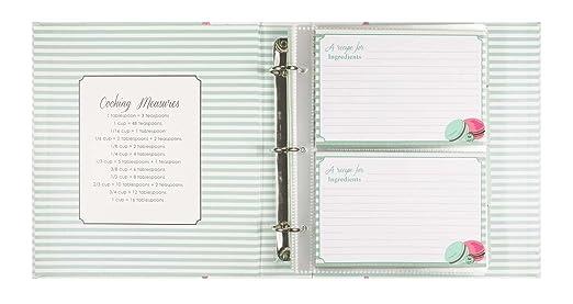 Macaron Recipe Book Page Recipe Book by Jessie