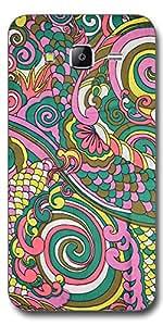SEI HEI KI Designer Back Cover For Samsung Galaxy J7 - Multicolor