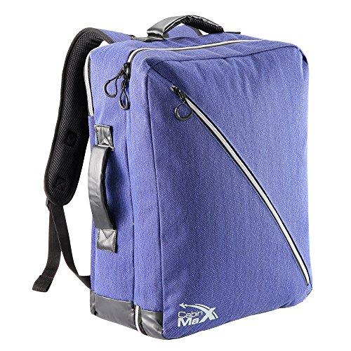zaino-cabin-max-oxford-50x40x20cm-bagaglio-a-mano-zaino-con-cinghie-riponibili-indigo