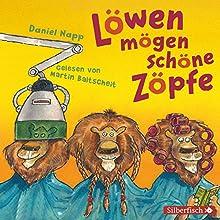 Löwen mögen schöne Zöpfe: Das Laute-Hörbuch zum Mitmachen (       ungekürzt) von Daniel Napp Gesprochen von: Martin Baltscheit