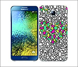 Galaxy Printed 2145 Heart Collection Mosaic Hard Cover for Samsung GRAND I9082