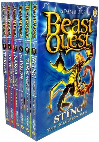 Beast Quest Series 3 The Dark Realm 6 Books Collection Set (Books 13-18) (Beast Quest Series 14 compare prices)